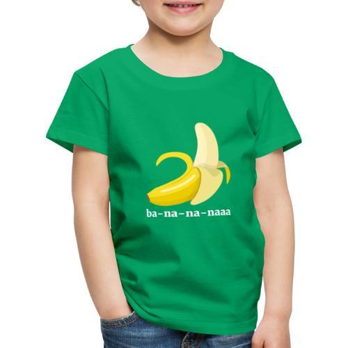 Lustiges Bananen Shirt - Kinder Premium T-Shirt