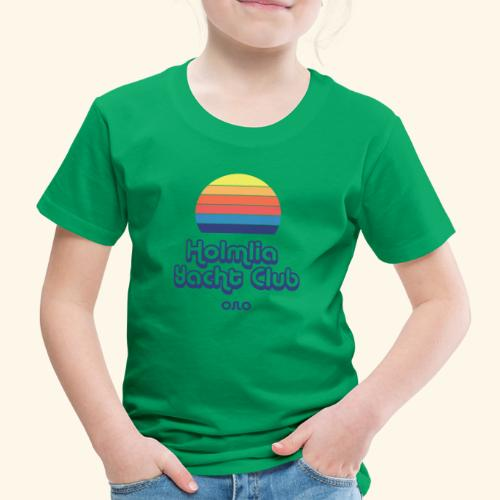 Holmlia Yacht Club midnight hour - Premium T-skjorte for barn