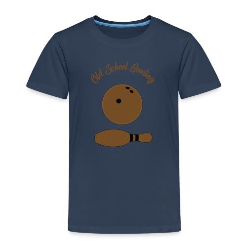 Old School Bowling - T-shirt Premium Enfant