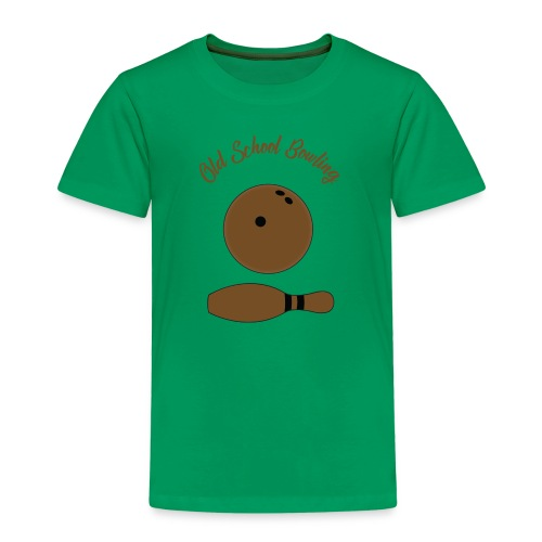 Old School Bowling - T-shirt Premium Enfant