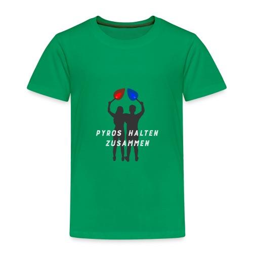 Silhouette PYROS HALTEN ZUSAMMEN - Kinder Premium T-Shirt