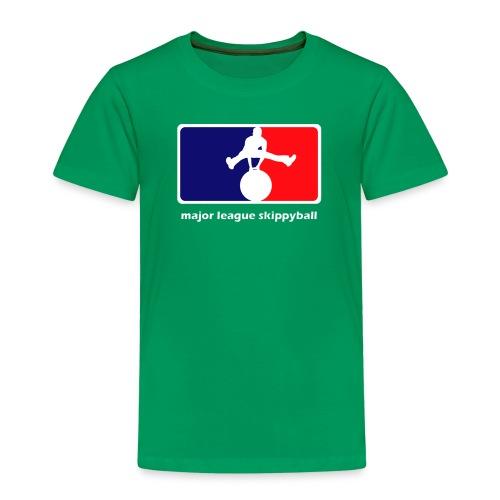 Major League Skippyball - Kinderen Premium T-shirt