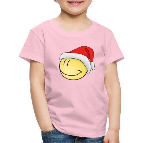santa-smilie - Kinder Premium T-Shirt