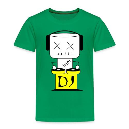 DJ Puppet XL - Kinder Premium T-Shirt