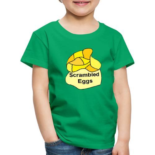 scrambled eggs - Børne premium T-shirt