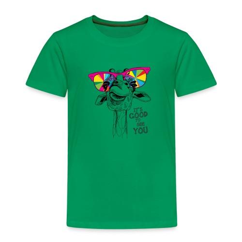 Giraffe It's good to see you - Kinder Premium T-Shirt