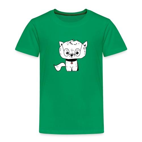 Grumpy cat Crittercontest - Kinder Premium T-Shirt