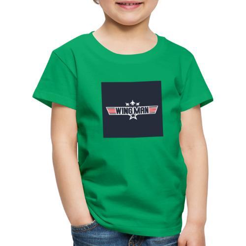 top gun wingman design - Camiseta premium niño