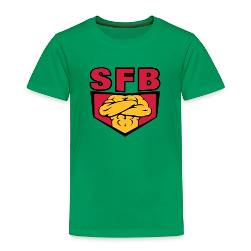 sfblogodefcopy - Kinder Premium T-Shirt