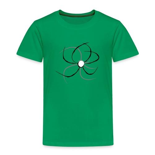 Flower lineart - Camiseta premium niño