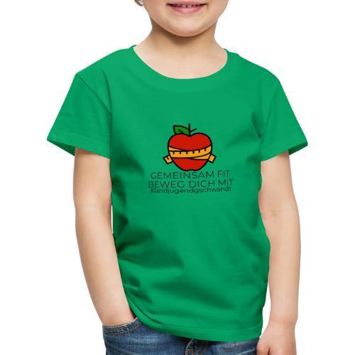 Gemeinsam FIT beweg dich MIT - Kinder Premium T-Shirt