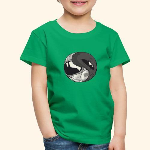 Yin Yang space Alien und Astronaut - Kinder Premium T-Shirt