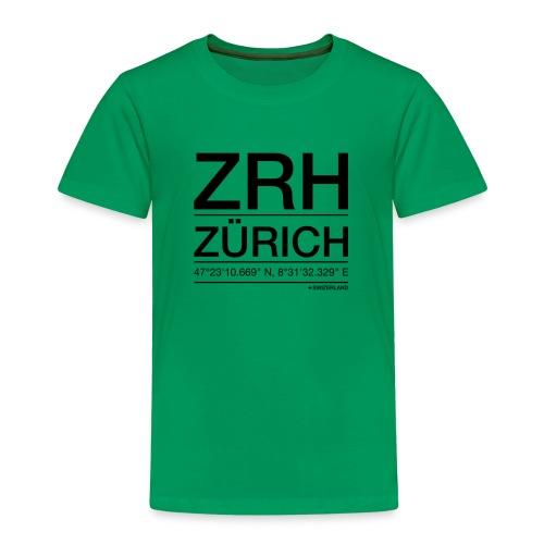 ZRH - Kinder Premium T-Shirt