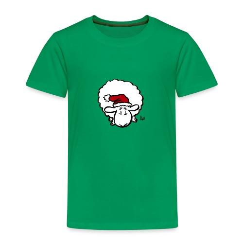 Santa Sheep (red) - Kids' Premium T-Shirt
