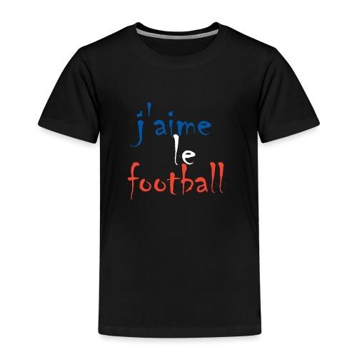 j' aime le football - Kinder Premium T-Shirt