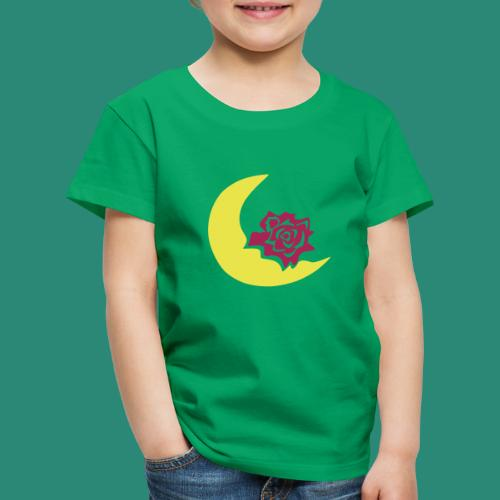 Mondblume svg - Kinder Premium T-Shirt