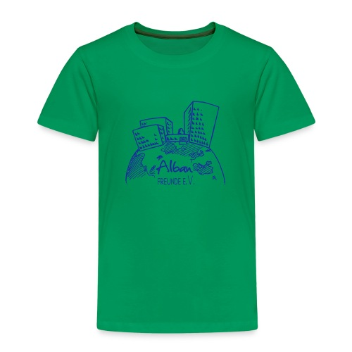 Freundelogo blau - Kinder Premium T-Shirt