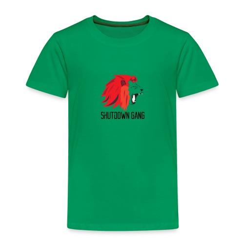 Shutdown gang - Premium-T-shirt barn