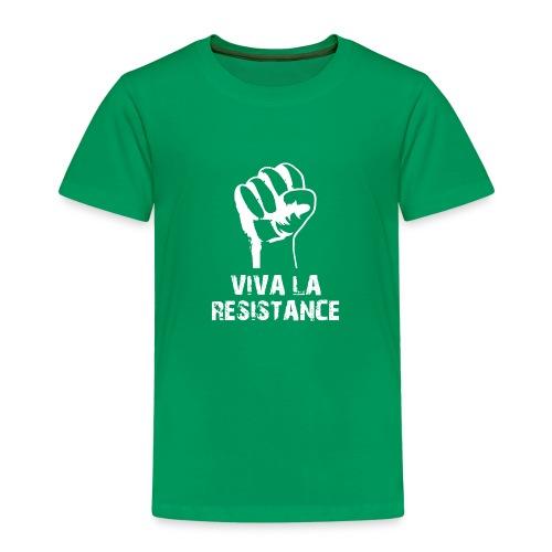 Vive La Resistance Logo - T-shirt Premium Enfant