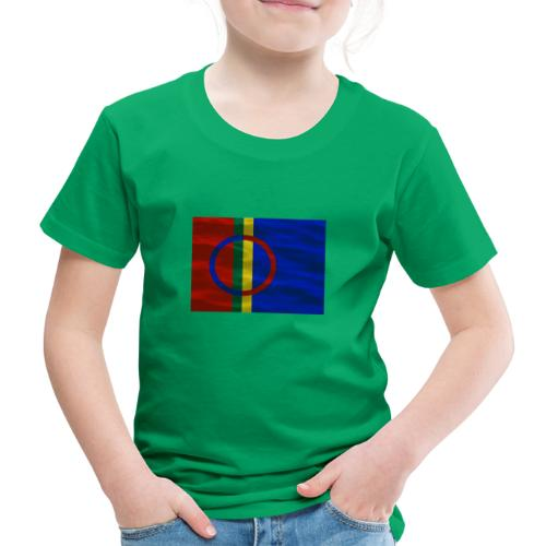 Sapmi flag - Premium T-skjorte for barn
