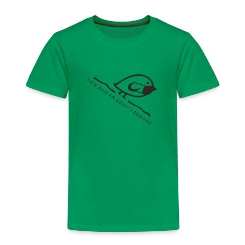 Tweetlercools - Bergab Mundschutz 1 - Kinder Premium T-Shirt