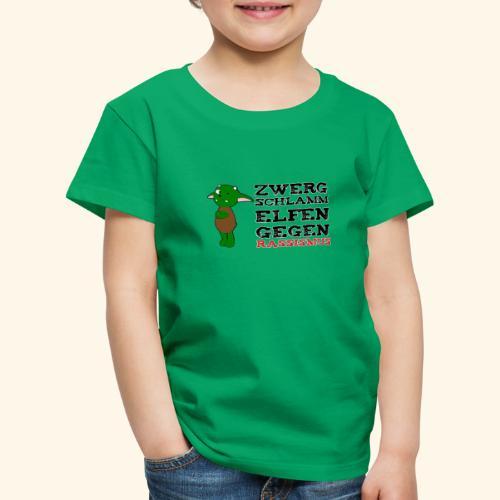 Zwergschlammelfen gegen Rassismus - Kinder Premium T-Shirt