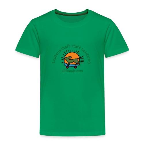 Ullihunde - Leidenschaft statt Leistung - Kinder Premium T-Shirt