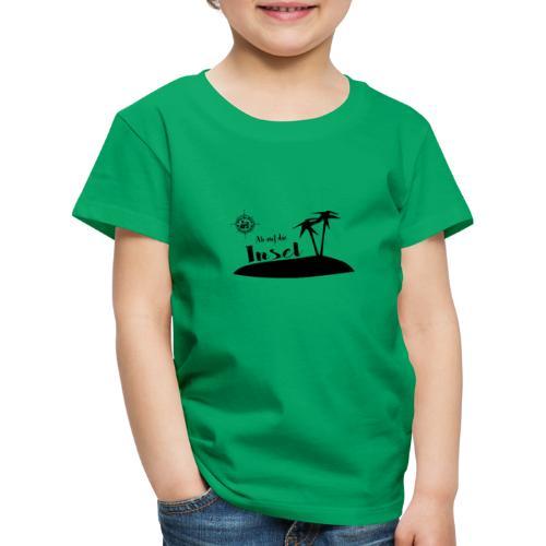 Ab auf die Insel - Kinder Premium T-Shirt