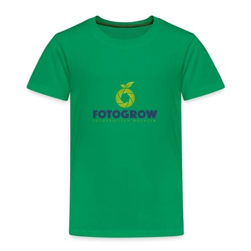 Fotogrow Logo - Kinder Premium T-Shirt