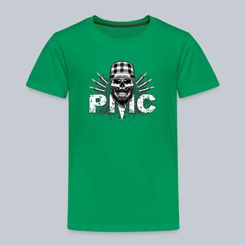 PMC Skull white - Kinder Premium T-Shirt