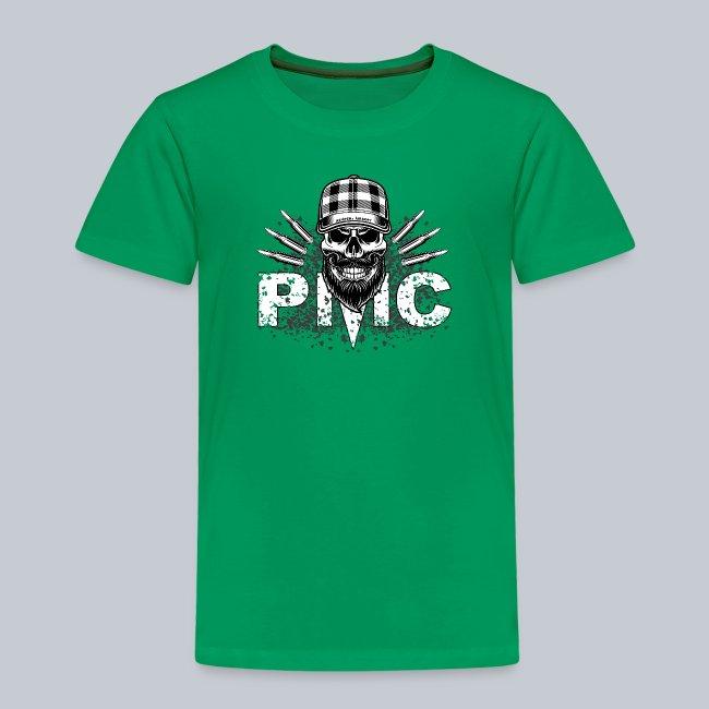 PMC Skull white
