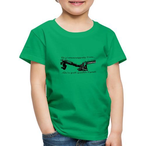 si je connaissait l'.... - T-shirt Premium Enfant