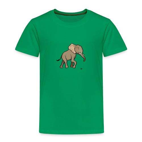 African Elephant - Lasten premium t-paita