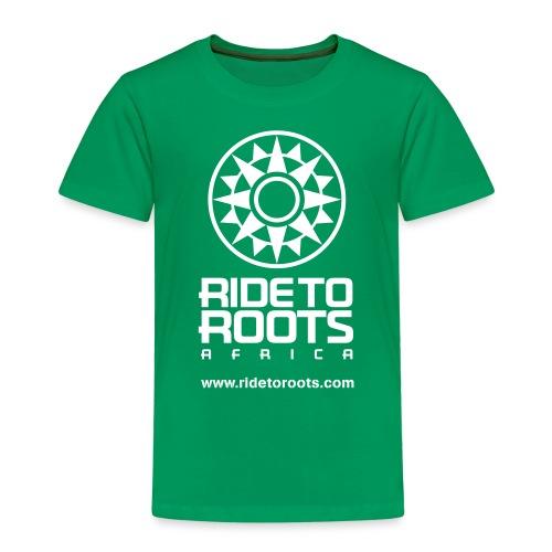 RTR vert white - Camiseta premium niño
