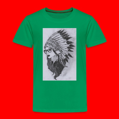 indian - Maglietta Premium per bambini
