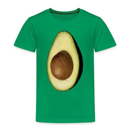 Real Photo Trendy AVOCADO vertical - Kinder Premium T-Shirt