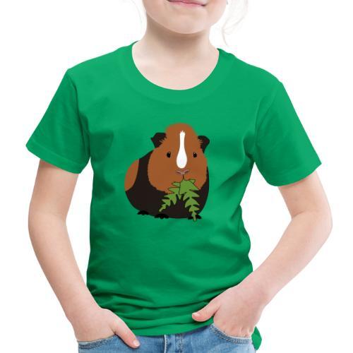Meerschweinchen frisst Löwenzahn Geschenk - Kinder Premium T-Shirt