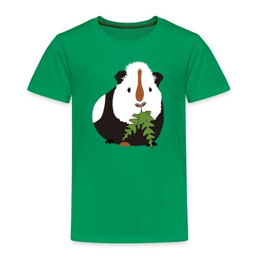 Meerschweinchen frisst Löwenzahn Geschenkidee - Kinder Premium T-Shirt
