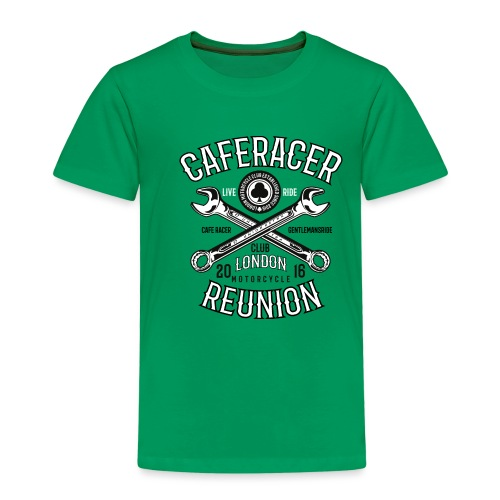 Caferacerreunion - Kids' Premium T-Shirt