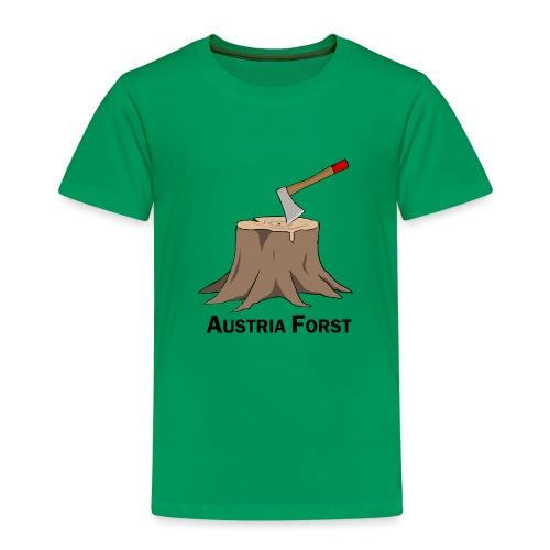 Baumstumpf - Kinder Premium T-Shirt