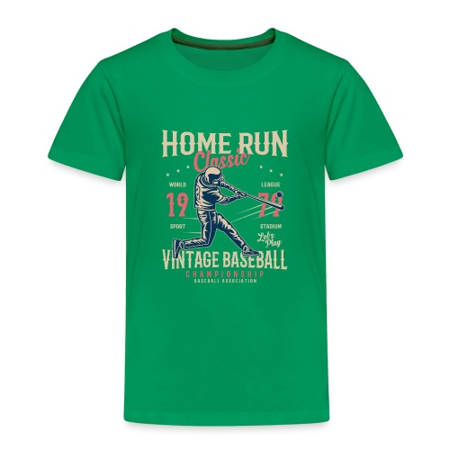 Home Run Classic - Kinder Premium T-Shirt