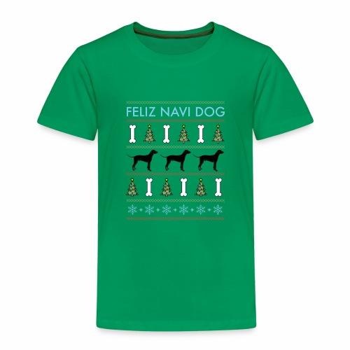 Feliz Navi Dog - Premium-T-shirt barn