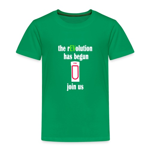 Ladestation Elektroauto E-Auto rEVolution Shirt - Kinder Premium T-Shirt