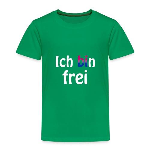 Ich bin frei - bisexuell - LGBT - Liebe - Freiheit - Kinder Premium T-Shirt