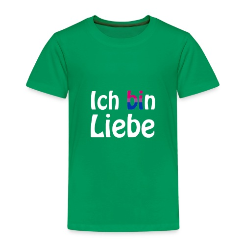 Ich (bi)n Liebe - Bisexualität - LGBT - Queer - Kinder Premium T-Shirt