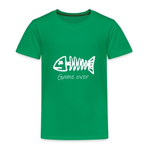 Motiv Fisch-Skelett für Angler - Kinder Premium T-Shirt