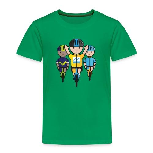 Mini-Racers-Finish - Kids' Premium T-Shirt