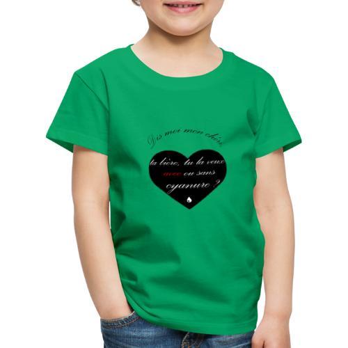 cyanure - T-shirt Premium Enfant