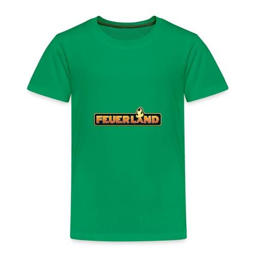 shirt feuerland logo - Kinder Premium T-Shirt