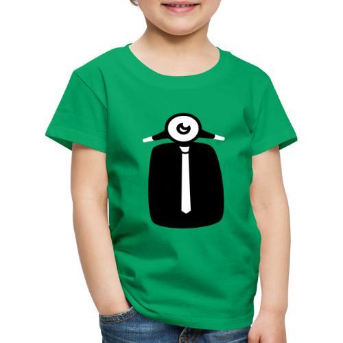 Svart. Hvitt. - Premium T-skjorte for barn